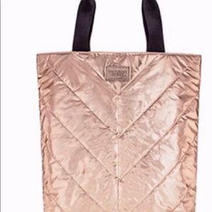 Victoria Secret Rose Gold Tote/Bag